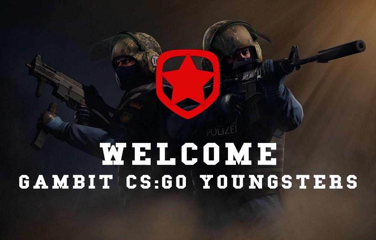 少年枪男队成立,Gambit宣布组建CSGO青训队